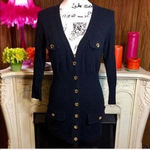 Minnie Rose Fit and Flare Cardigan